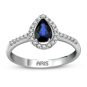 Farbedelstein Ringe