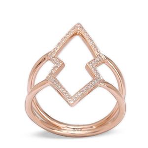 Trendige Diamantringe