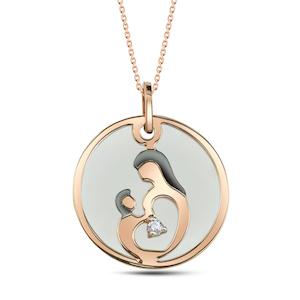 Mutter Kind Halsketten