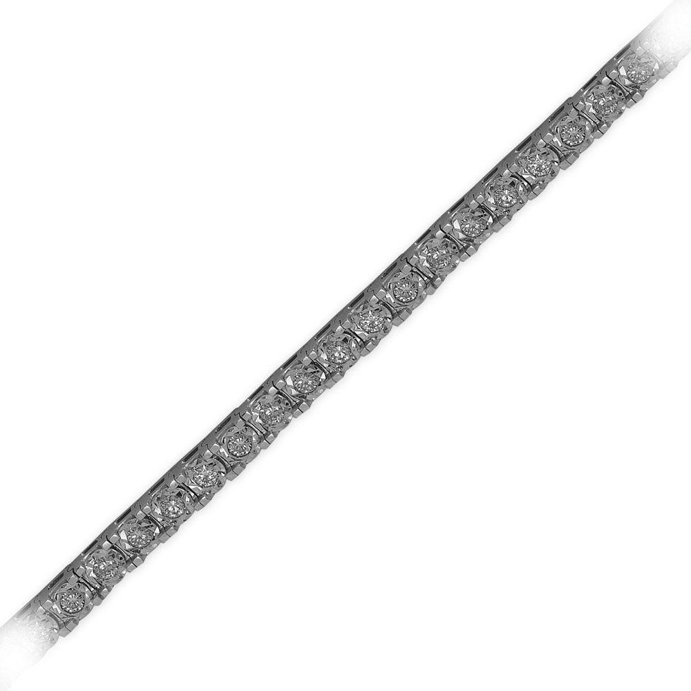 1,93 ct  Diamant Armband