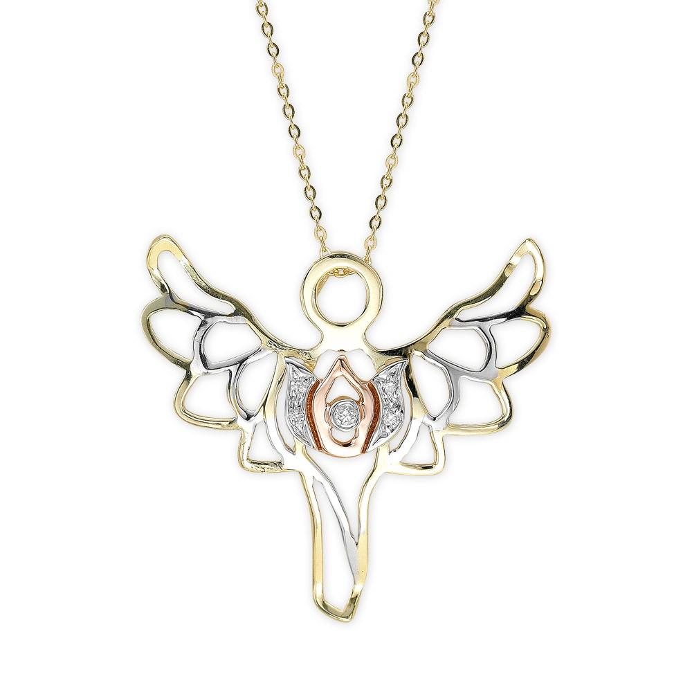 0,03 ct Diamant Light of Angels Kette