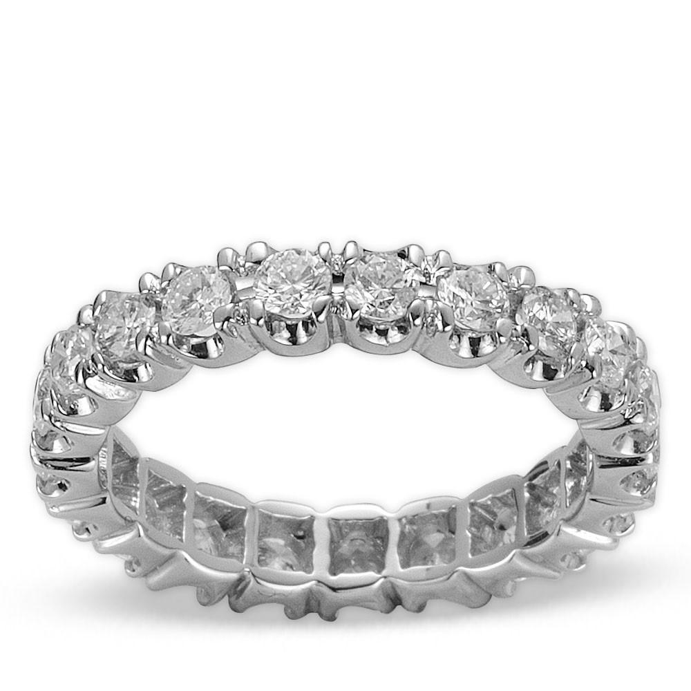 1,30 ct Diamant Memoire Ring
