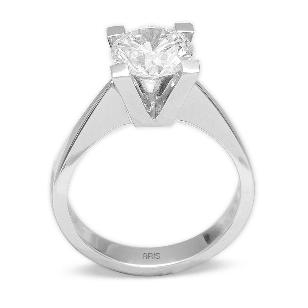 1,51 ct  Diamant Solitärring