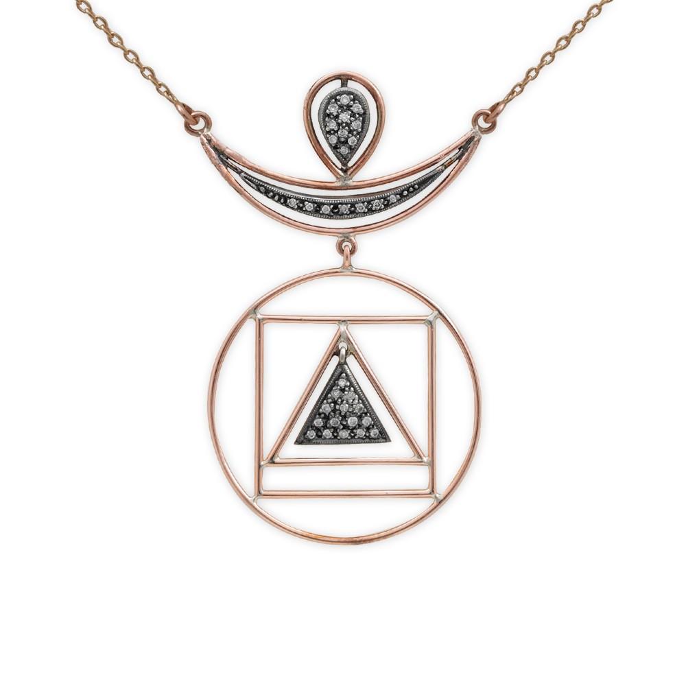 Diamant 4 Elementen Kette