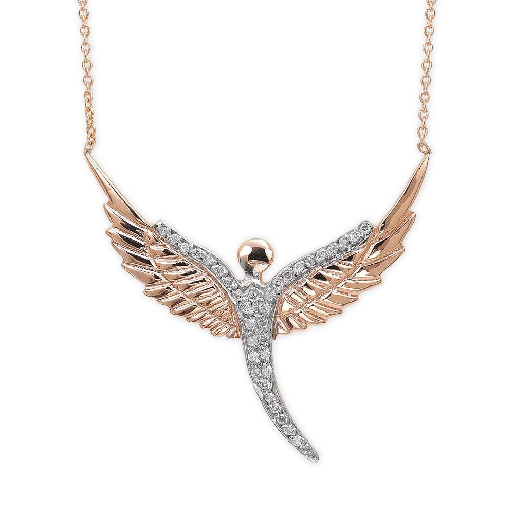 0,08 ct  Engel Diamant Kette