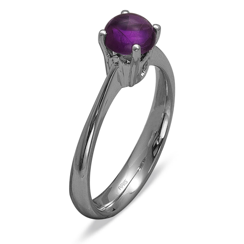 0,99 ct  Amethyst Ring