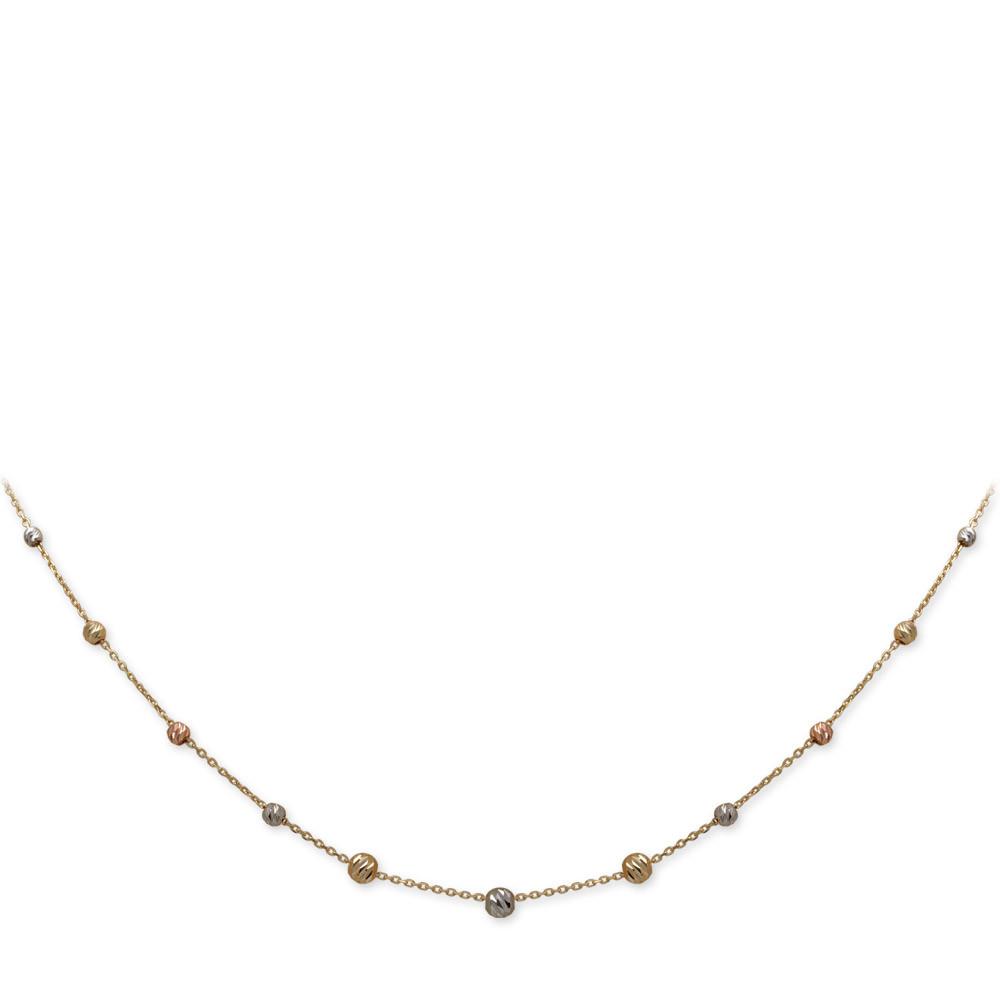 Dorica Ball Gold Halskette 585 gold