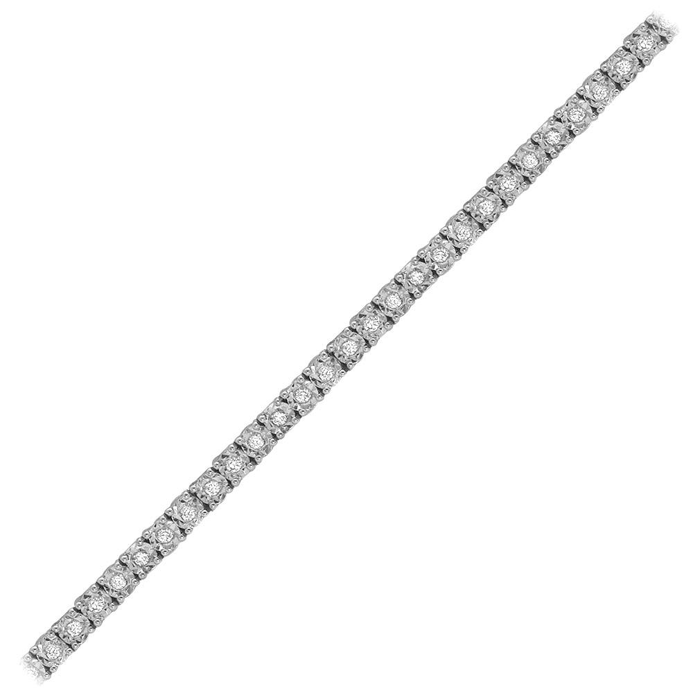 0,88 ct Diamant Tennis Armband