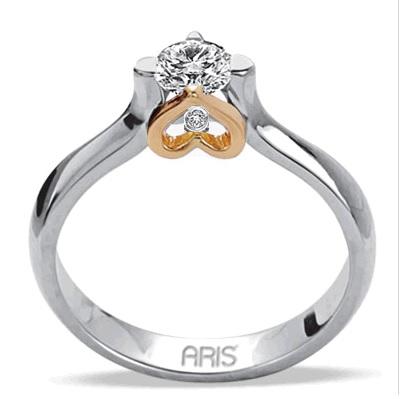 0.21 Ct Diamant Solitaire Ring