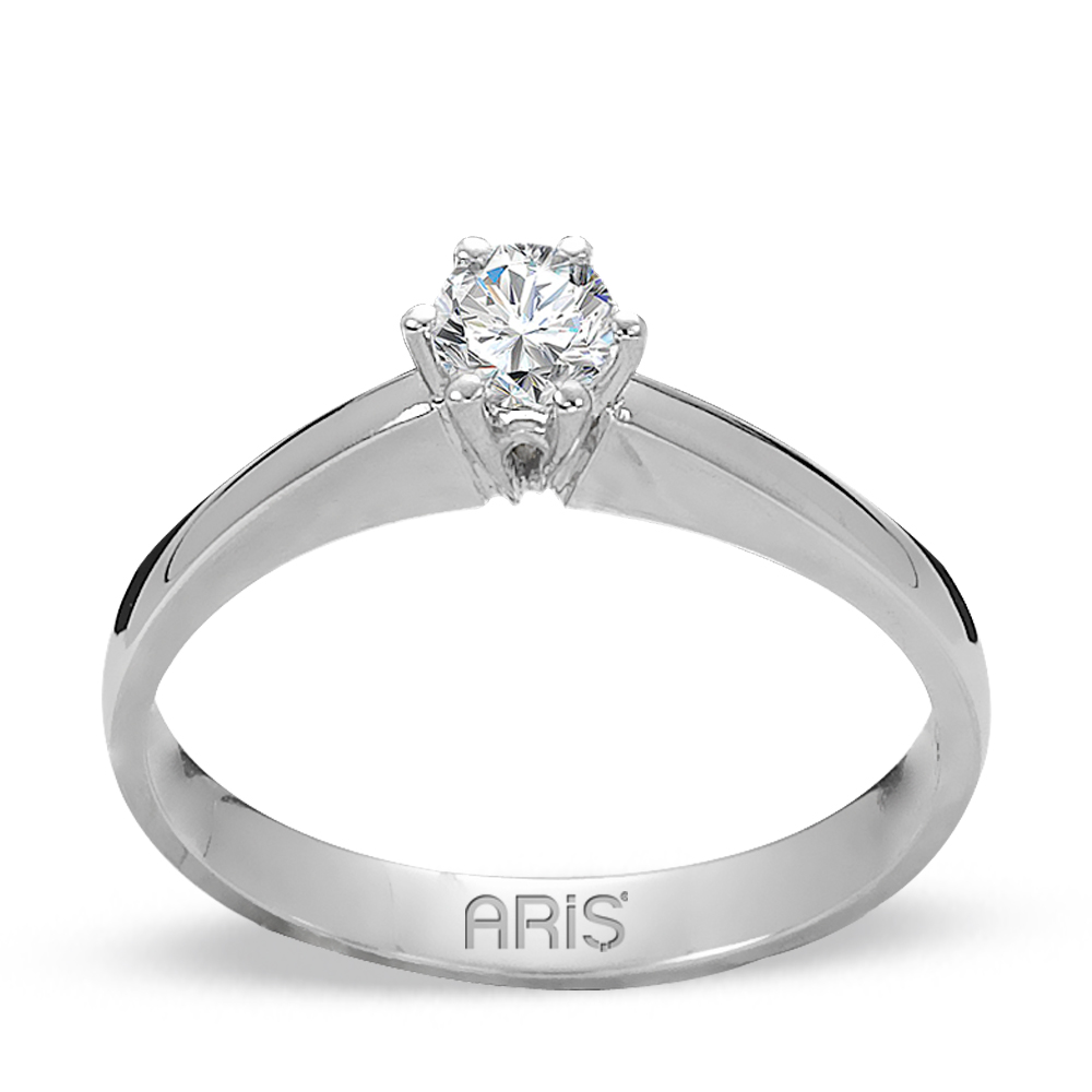 0,24 ct Diamant Solitärring