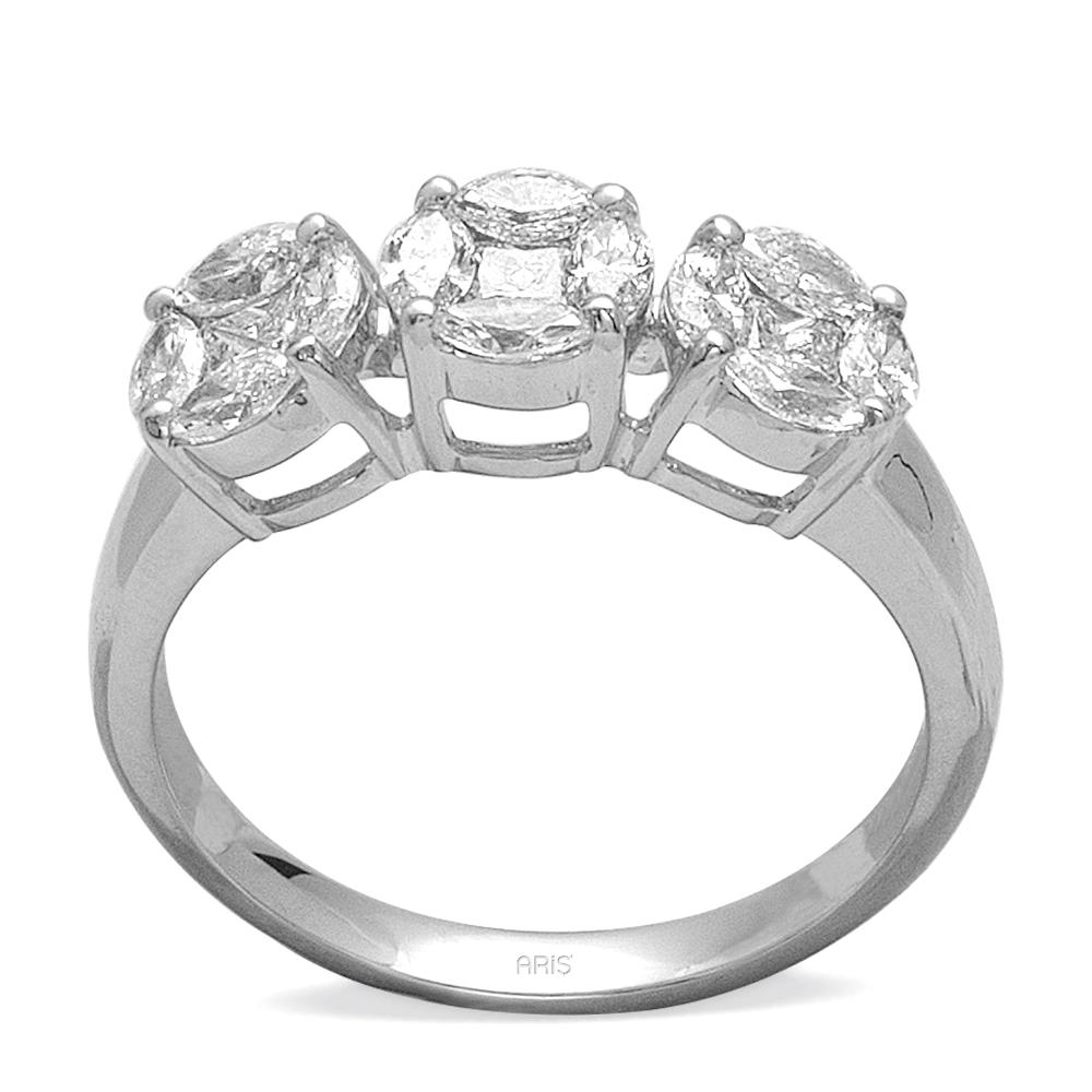 1,30 ct Diamant Effect  Ring