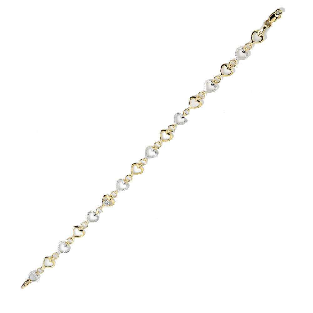 0,03 ct  Diamant Armband