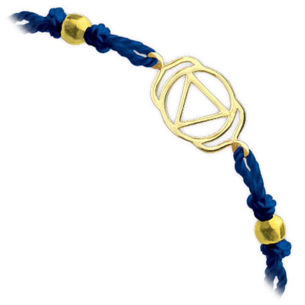 585er Gelbgold Stirnchakra Armband