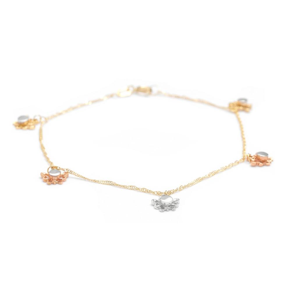 585er Rosegold  Armband