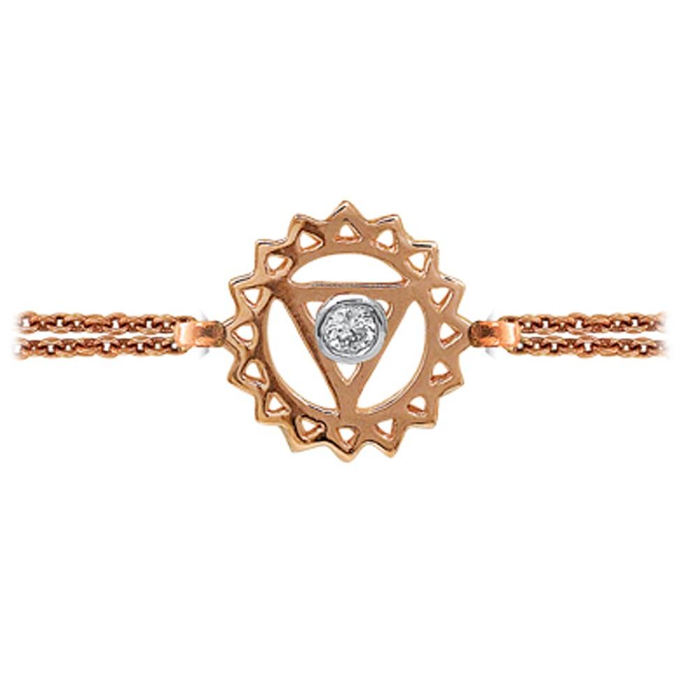 Das Kehlchakra Armband