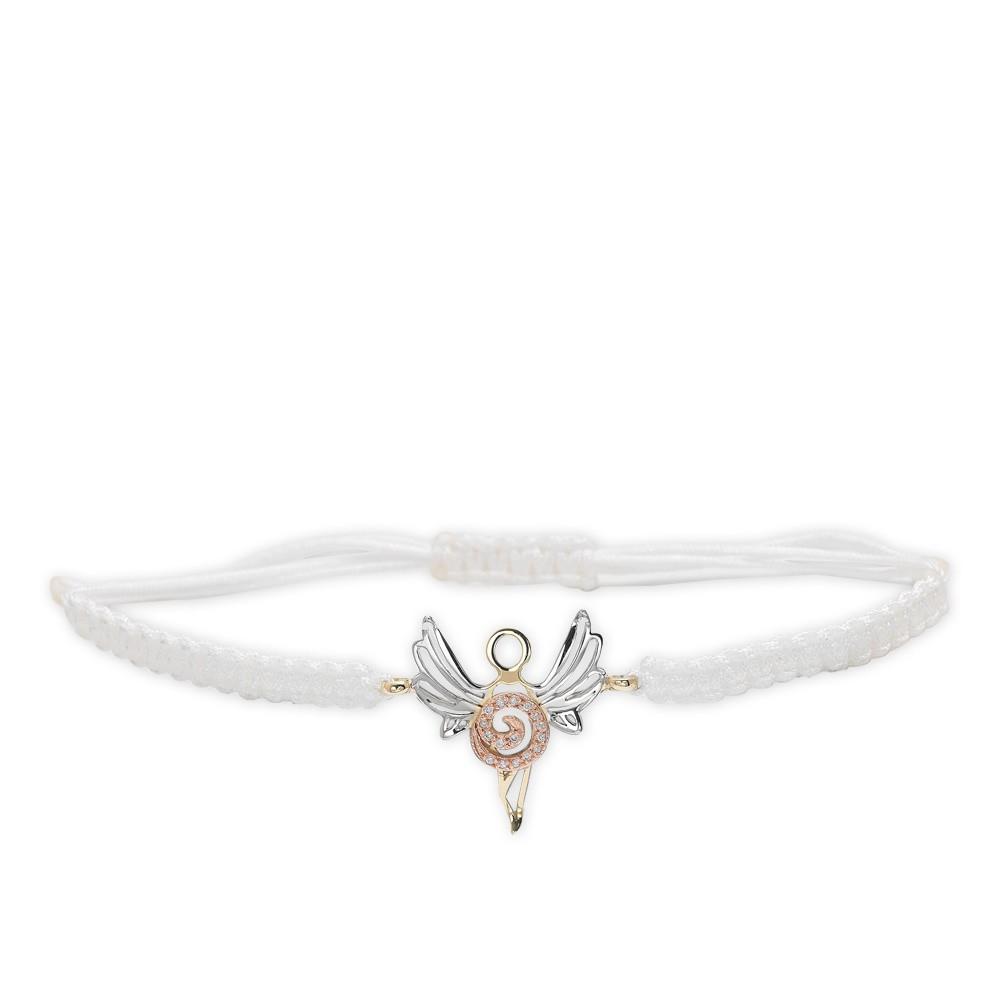 0,04 ct Diamant Erzengel der Ewigen Ruhe Azrael Armband