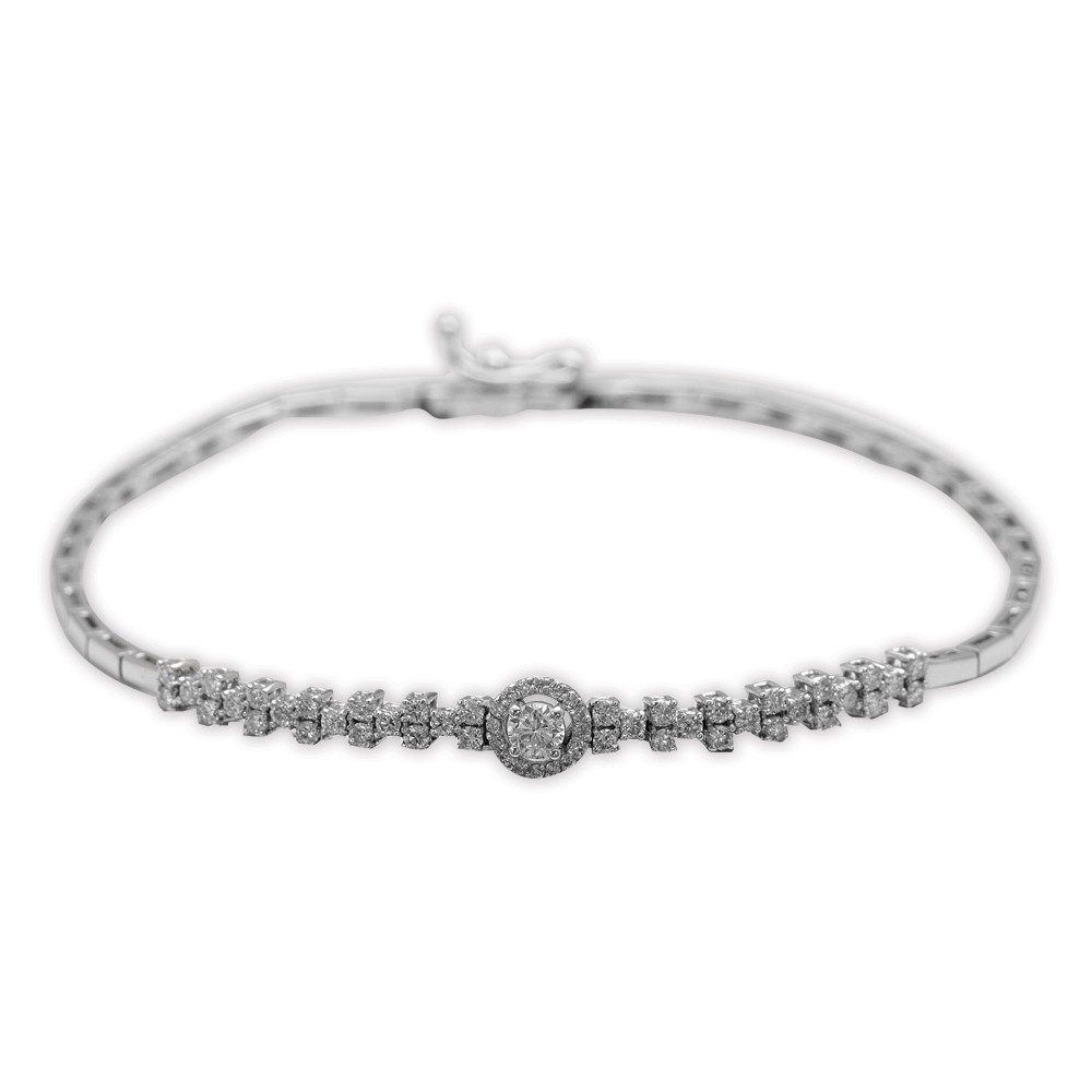 0,52 ct  Diamant Armband