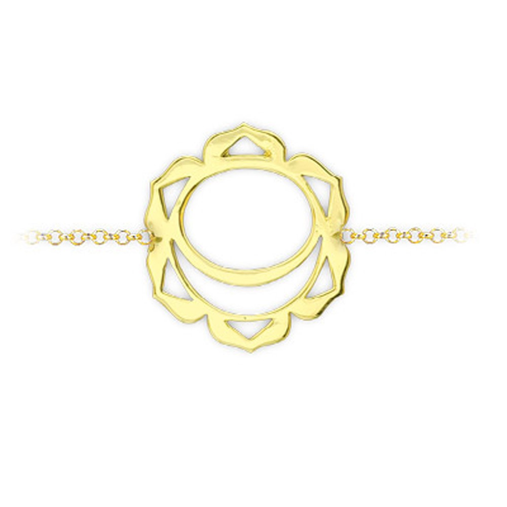 585er 14K Gold Chakra Armband