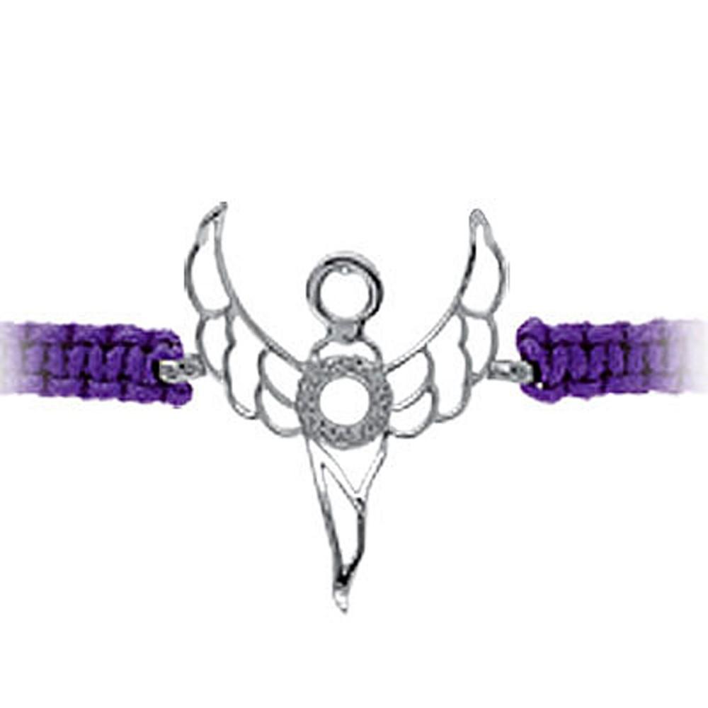 Erzengel de Weisheit Zadkiel Silber Armband