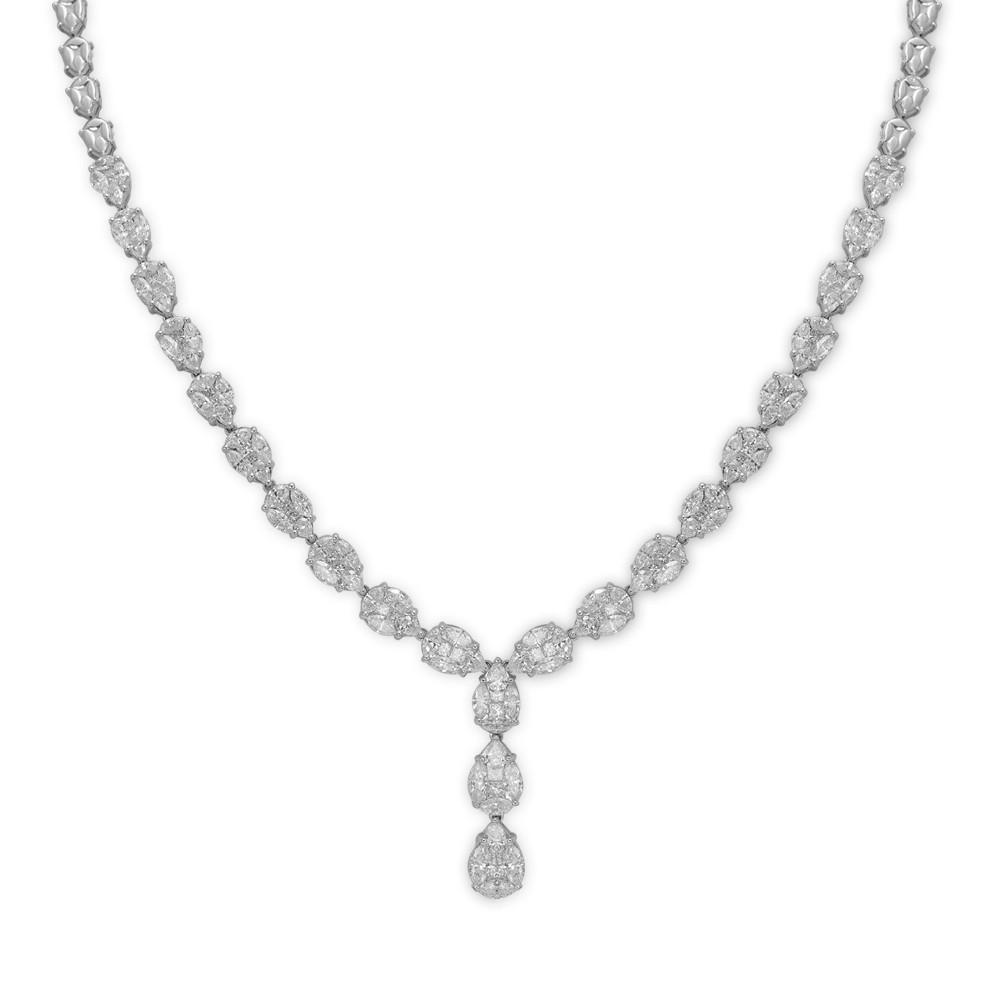 9,36 ct  Diamant Kette