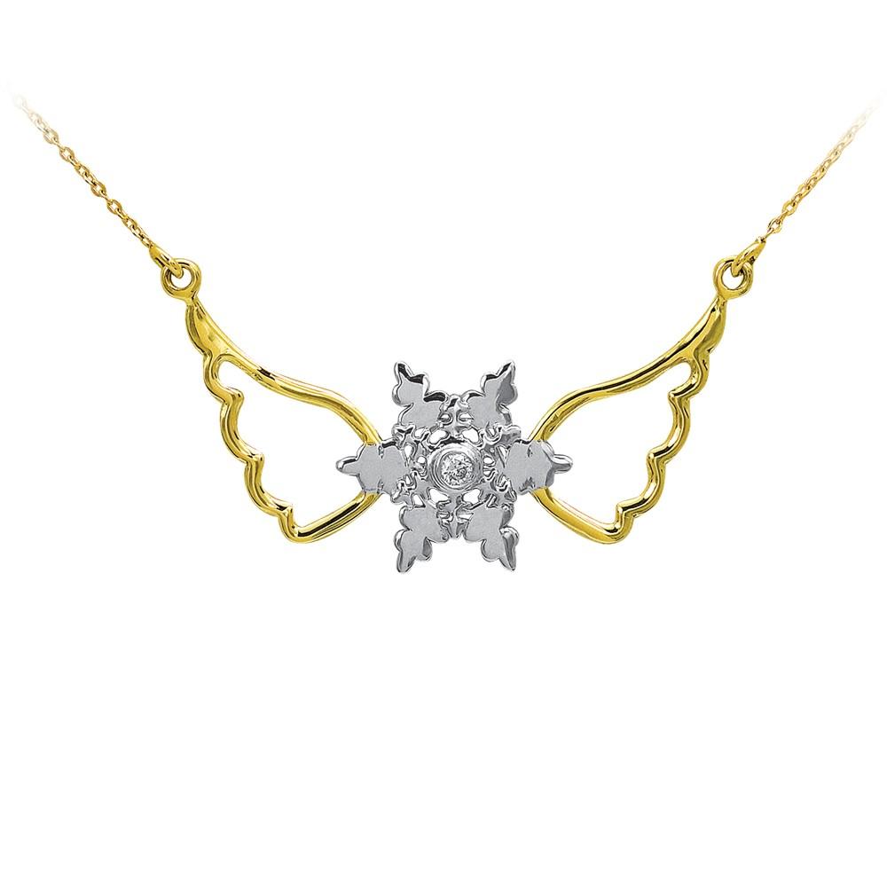 0,01 ct  Diamant Kette