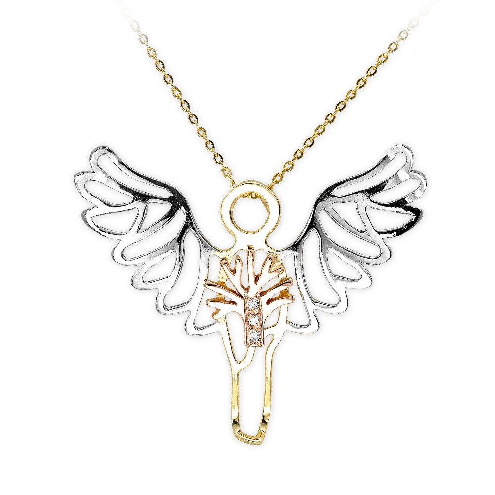 0,01 ct  Light of Angels Kette