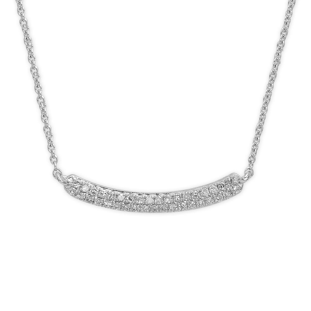 0,12 ct  Diamant Kette