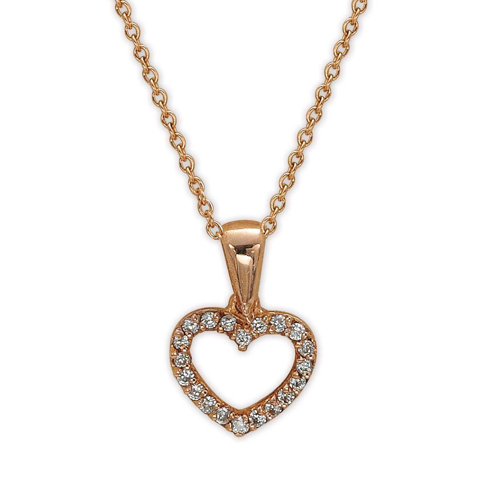 Diamant Herz Kette