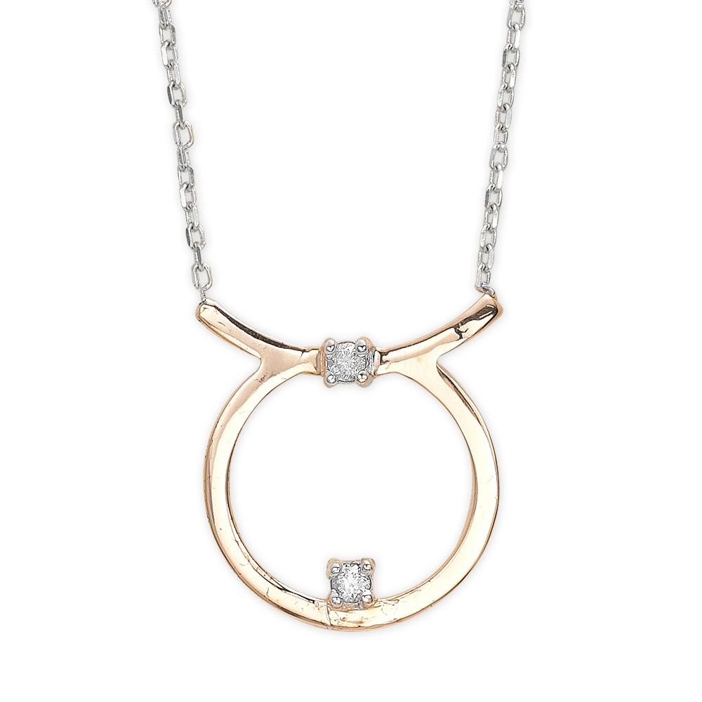 0,03 ct  Diamant Kette