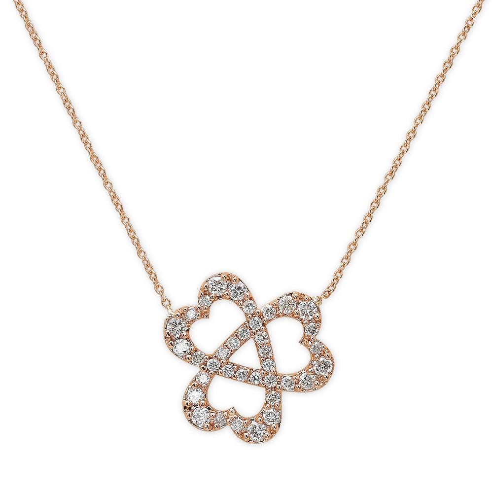 Diamant Themensymbol Kette