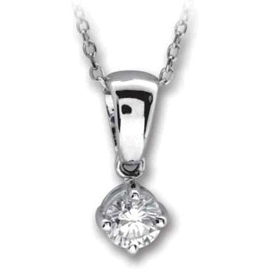0,17 ct  Diamant Kette