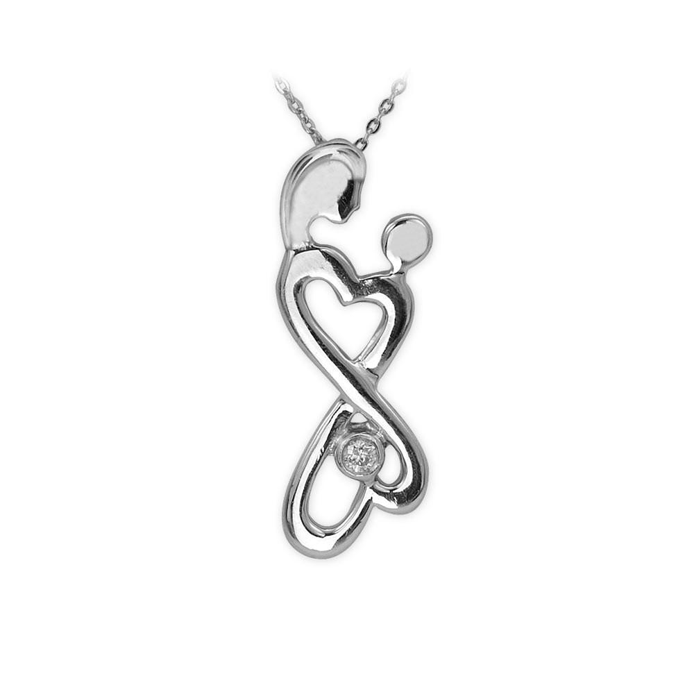 Silber Eternal Love Kette