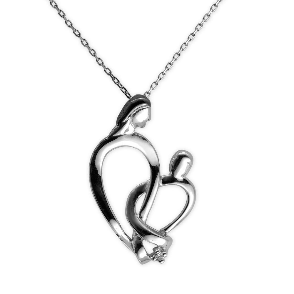 Eternal Love Silber Kette
