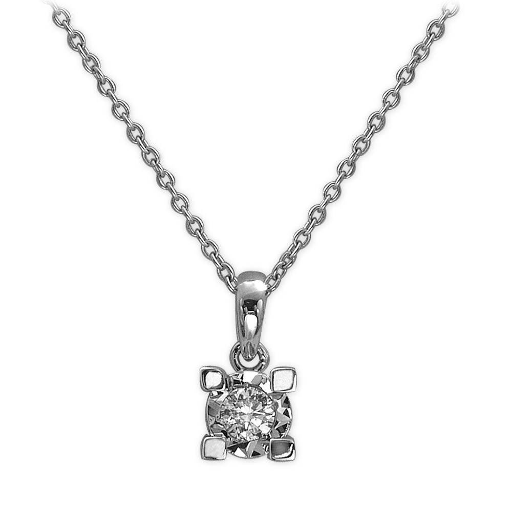 0,13 ct  Diamant Miracle Ketten