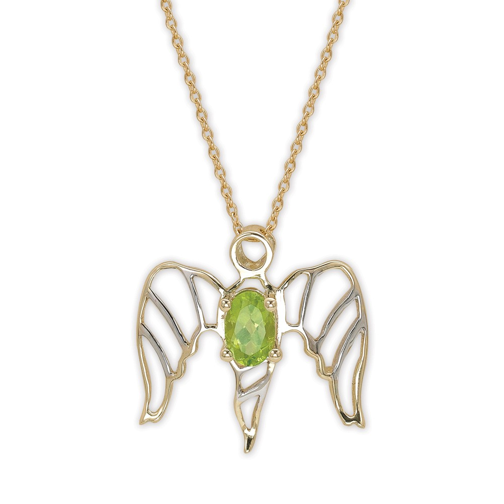 0,53 ct Light of Angels Peridot Kette