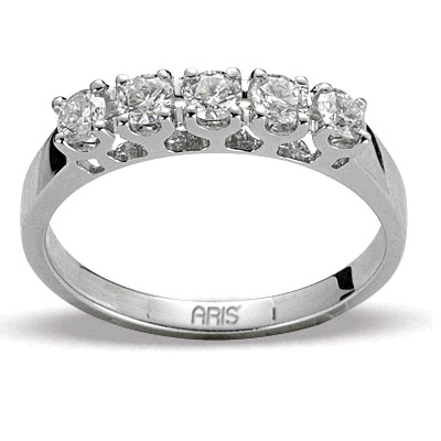 0,80 ct  Diamant Ring