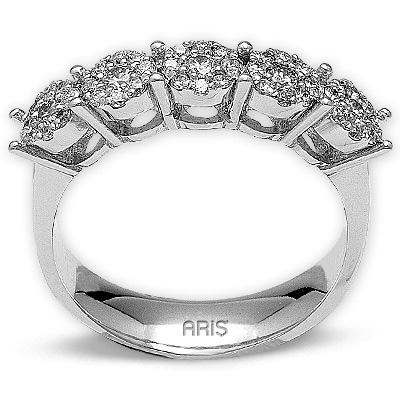 0,50 ct  Diamant Ring