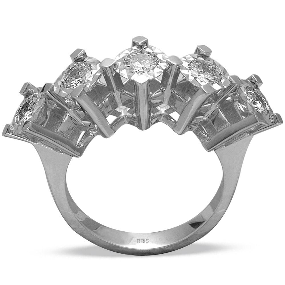 0,68 ct  Diamant Ring