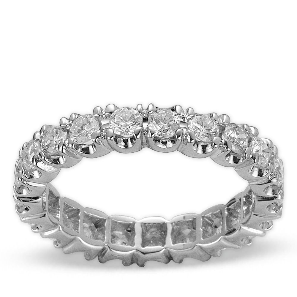 1,30 ct Diamant Memoire Ring