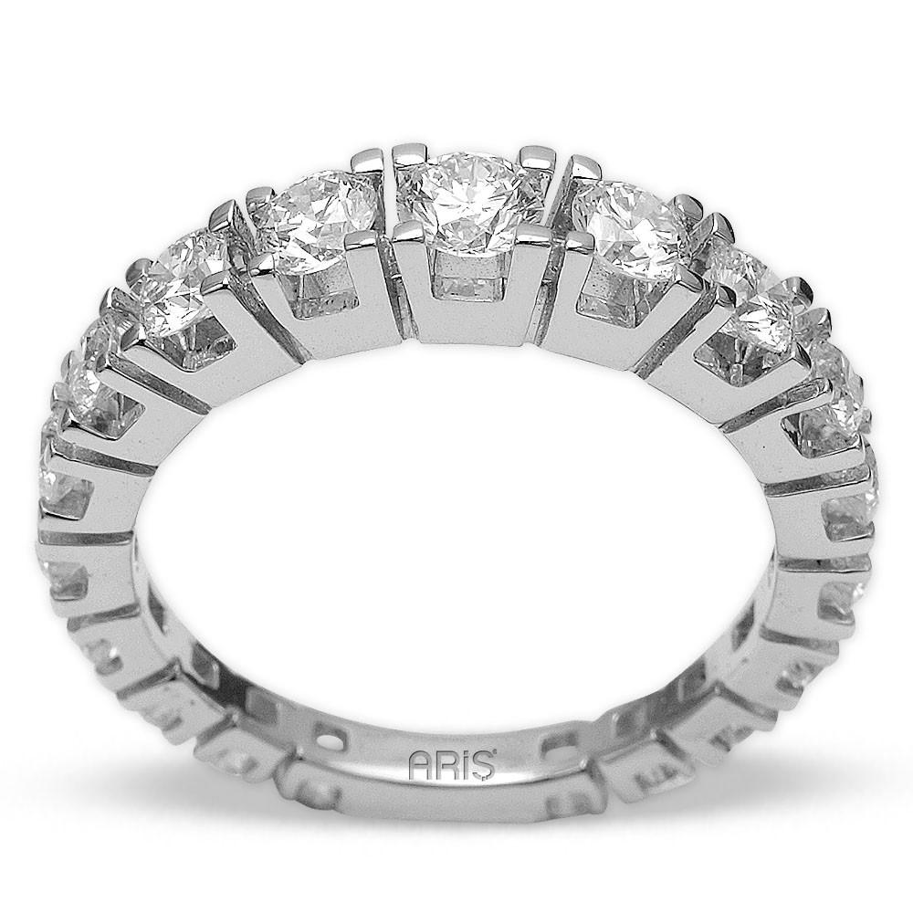 2,96 ct  Diamant Ring