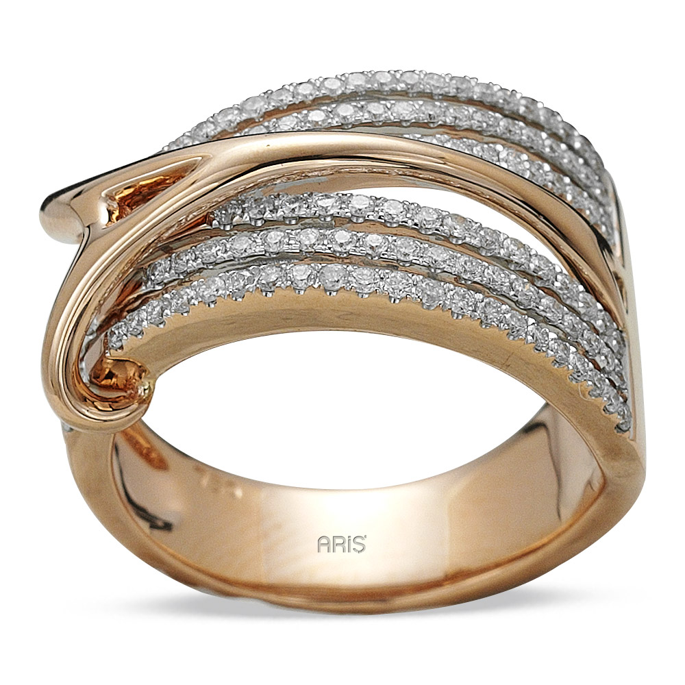 0,62 ct Diamant Fantasie Ring