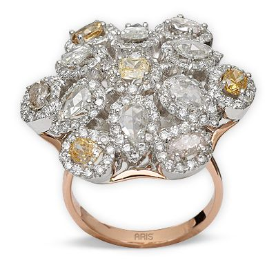 1,51 ct Fancy Diamant Ring