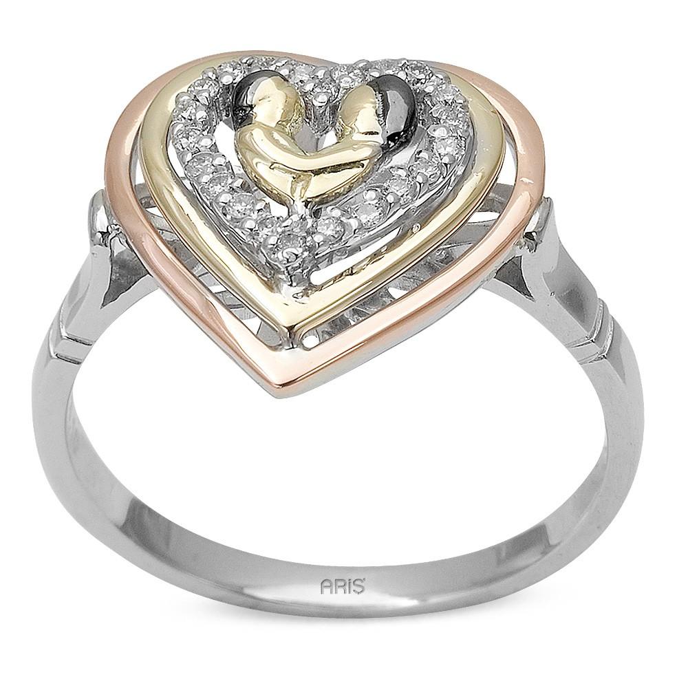 0,10 ct  Eternal Love Ring