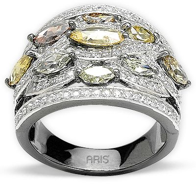 2,09 ct Fancy Diamant Ring