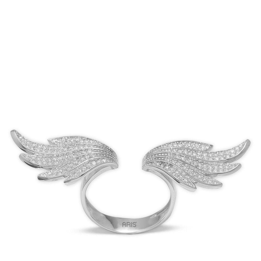 1,20 ct Diamant Engelsflügel Ring