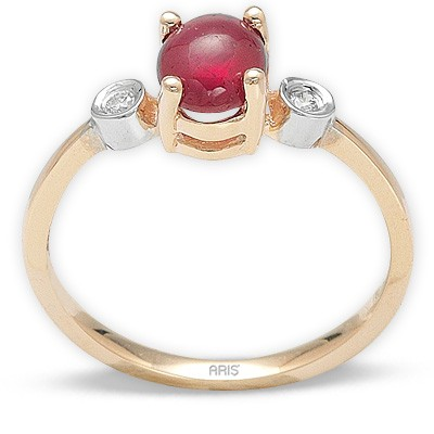 1,68 ct  Rubin Ring