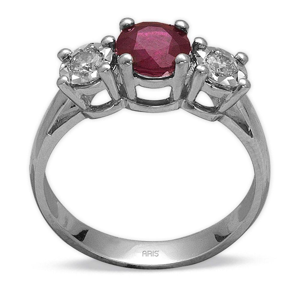 1,20 ct  Rubin Ring