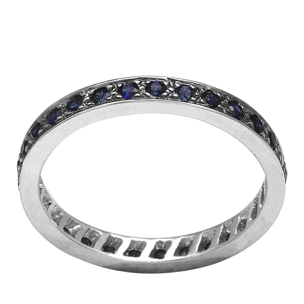 0,51 ct  Saphir Ring
