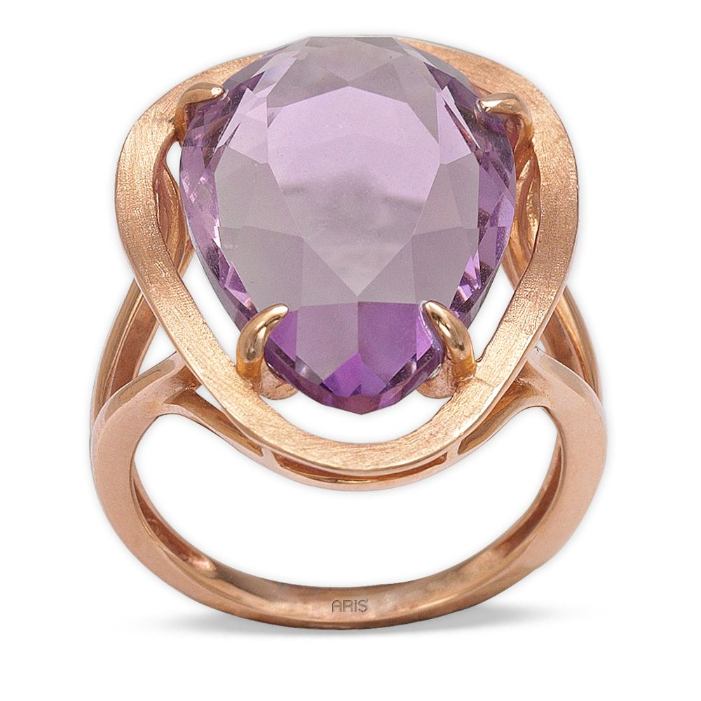 11,74 ct  Amethyst Ring