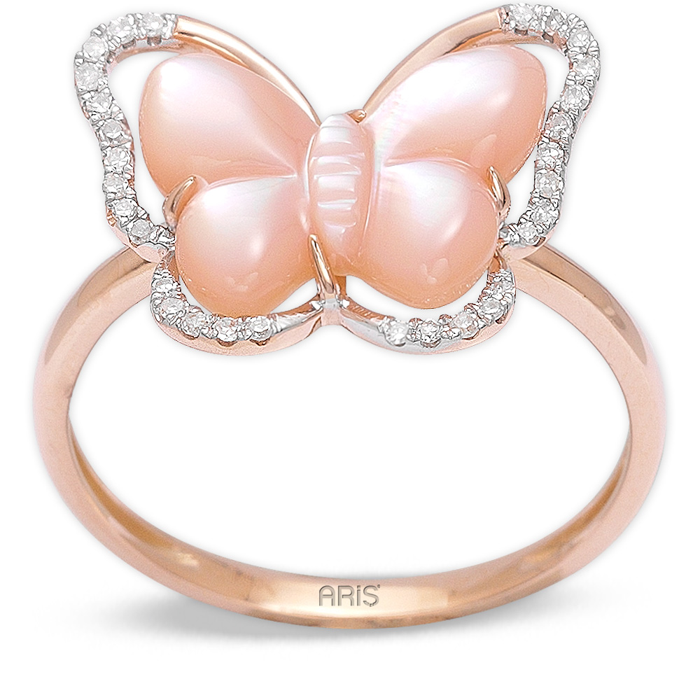 1,74 ct Perle Psoriasis Ring